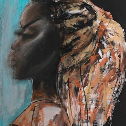 Gabrielle Pool - Blue African, 2004