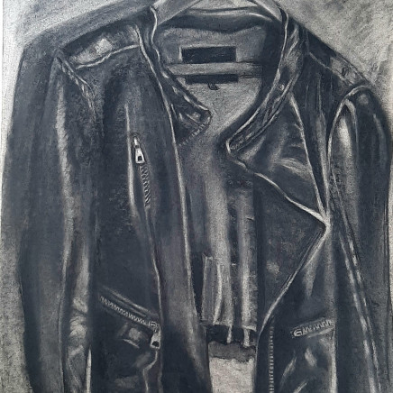 Tracey Levett - Leather Jacket, 2020