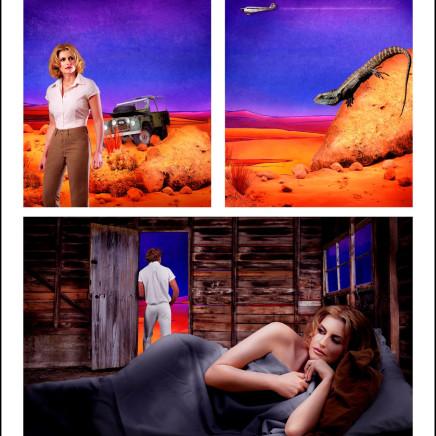 Tracey Moffatt AO - Adventure Series #9, 2004