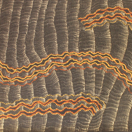 Debbie Brown Napaltjarri - Untitled, 2018