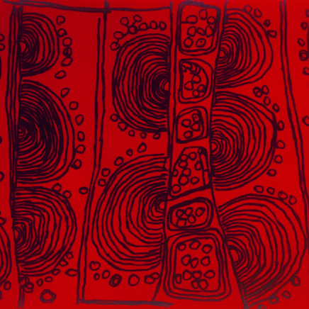 Naata Nungurrayi - Iconography No. 41, 2008