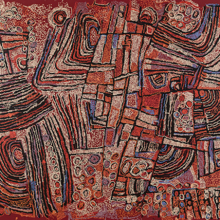 Naata Nungurrayi - Untitled, 2009