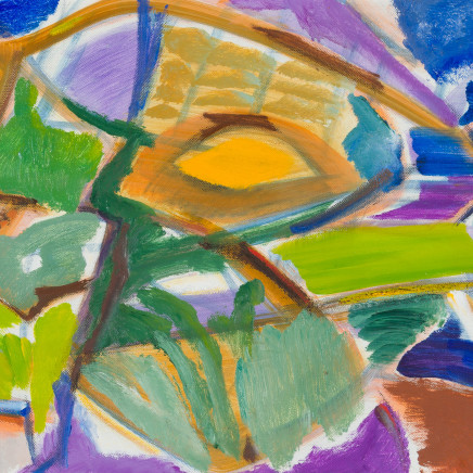 Ivon Hitchens - Green Shades in a Green Wood, 1970