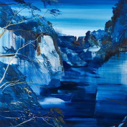 Calum McClure - Fissure in Blue, 2018