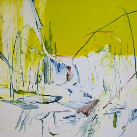 Calum McClure - Yellow Sky and Waterfall