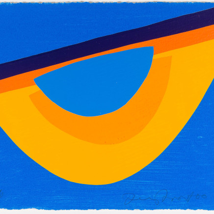 Terry Frost - Yellow and Blue for Bowjey, 2000