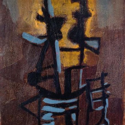 Roger Hilton - Deux Formes Debout, 1949