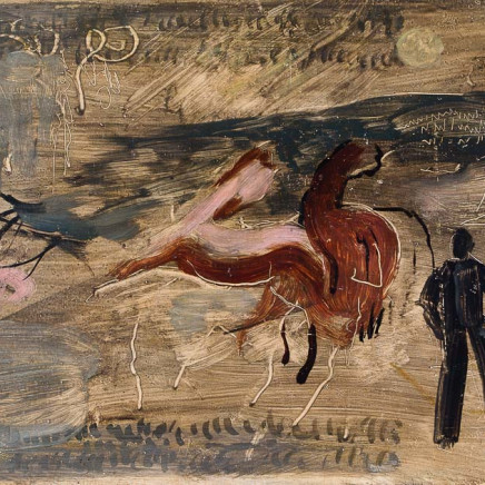 Roger Hilton - Figures and Horses, 1935
