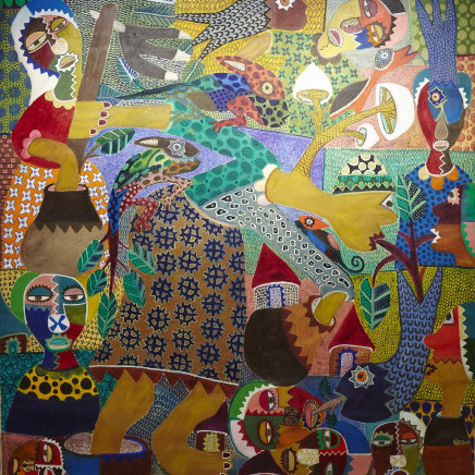 Cartoon Joseph - The Nature of African Herbalists, 2013