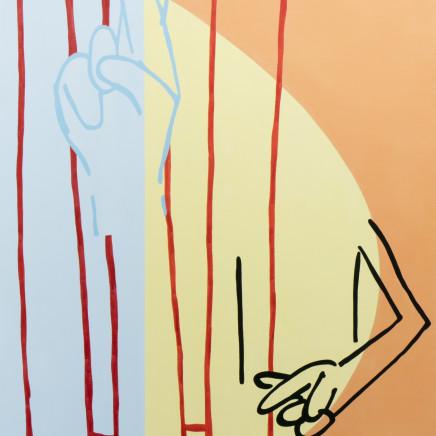 Genevieve Slater - Untitled (Egg Sunrise/Fingers Crossed)
