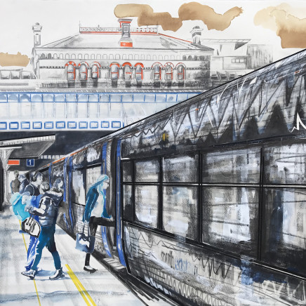 Lily Forwood - Denmark Hill Station, 2018