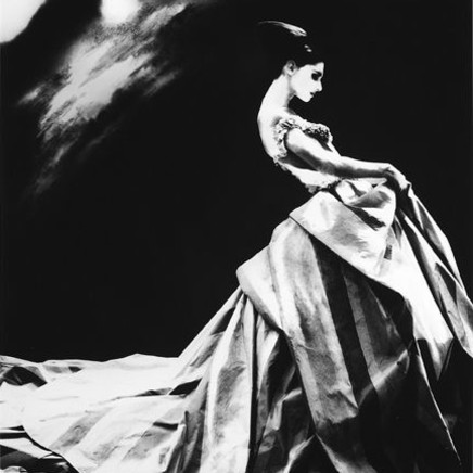 Lillian Bassman - Night Bloom, Anneliese Seubert, Paris, The New York Times, 1996