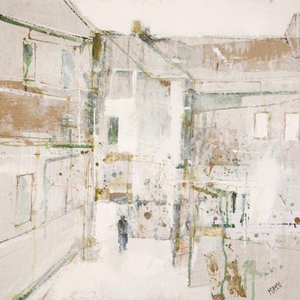 Robert McAulay - White Roofs 3, 2019