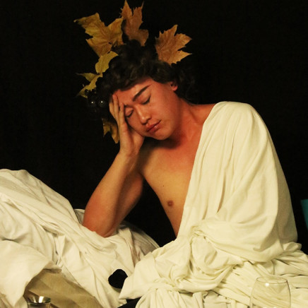 Han Jinpeng 韓金鵬 - Bacchus is Allergic to Alcohol 酒精過敏的酒神巴克斯, 2014