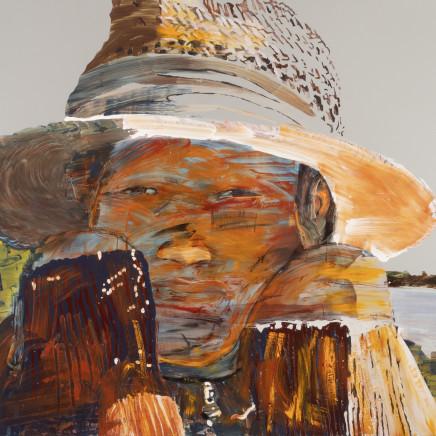 Erika Adamsson - In Shadow of Straw Hat, 2018