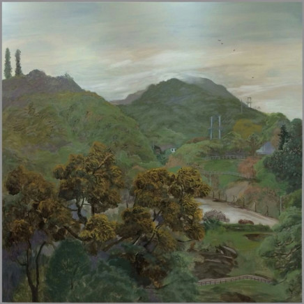 Wong, Stephen Chun Hei 黃進曦 - The Acacia confusa from the window 窗外的相思樹, 2014