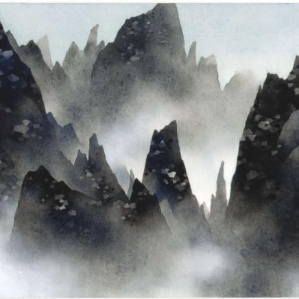Chan Keng Tin 陳鏡田 - Mountain Retreat 無心出岫, 2016
