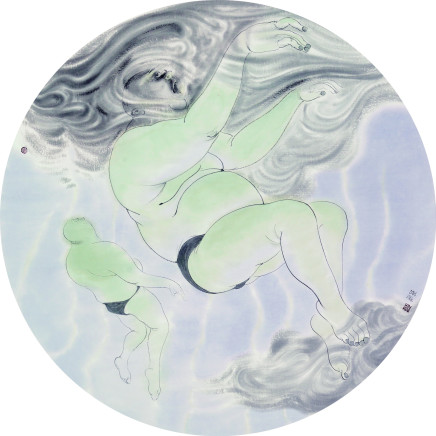 Qin Xiuping 秦修平 - Exhale 呼, 2014
