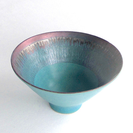 Sarah Perry - Lustred Turquoise Bowl