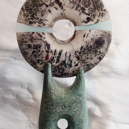 Peter Hayes - Raku Disc, 2018