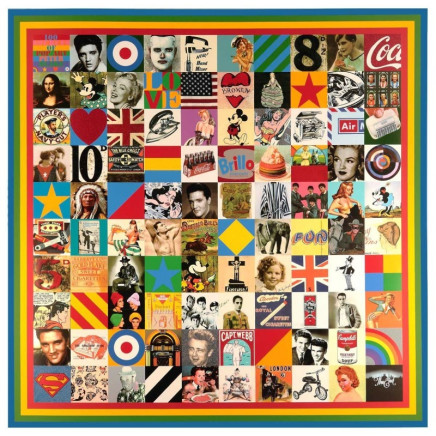 Sir Peter Blake CBE RDI RA - 100 Sources of Pop Art