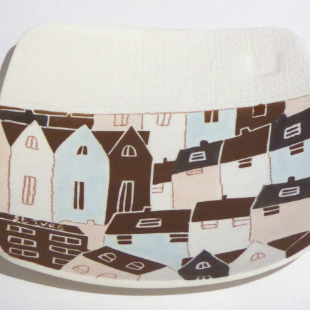 Stephanie Pace - Brown St Ives Plate