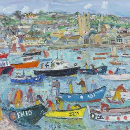 Linda Weir - Harbour Life, St Ives Summer