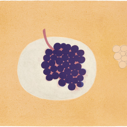 William Scott RA - Grapes, 1979