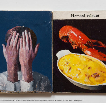 Simon Turner - Even if we eat with our eyes shut, touch, taste and smell tell us what we are eating', 2014