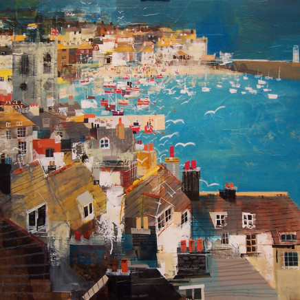 Mike Bernard RI - St Ives Bay, 2018