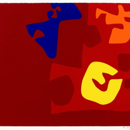 Patrick Heron - Untitled Composition from The Rothko Portfolio