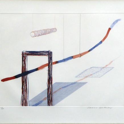 David Hockney OM CH RA, It Picks Its Way (MCA Tokyo 181), 1976-77