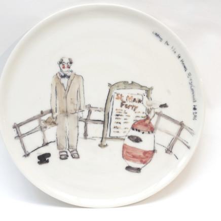 Helen Beard - St Mawes Plate