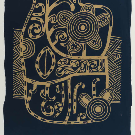 Alan Davie - Blue Incantation, 1999