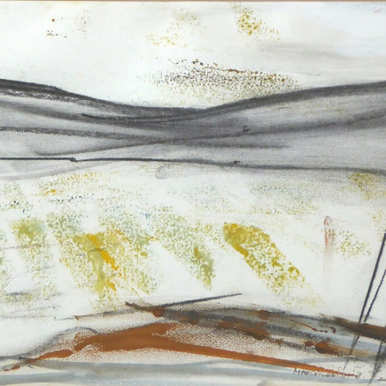 Margo Maeckelberghe - Winter Landscape, Penwith, 2000