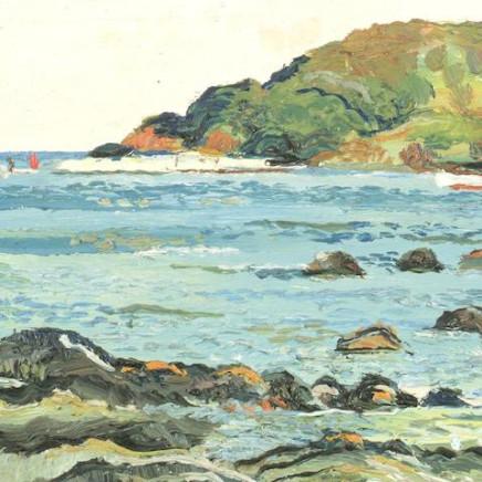Fred Yates, Looe Island