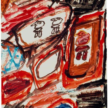 Jean Dubuffet - Site avec 3 personnages
