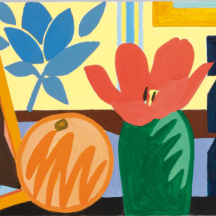 Tom Wesselmann - Study for Still Life with Orange and Tulip