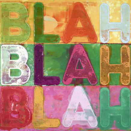 Mel Bochner - Blah, Blah, Blah