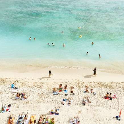 Josef Hoflehner - Waikiki Beach, Study 2, Honolulu, Hawaii
