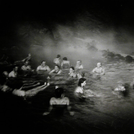 Hot Spring, Landmarnnslauger, Iceland [crowd of people]