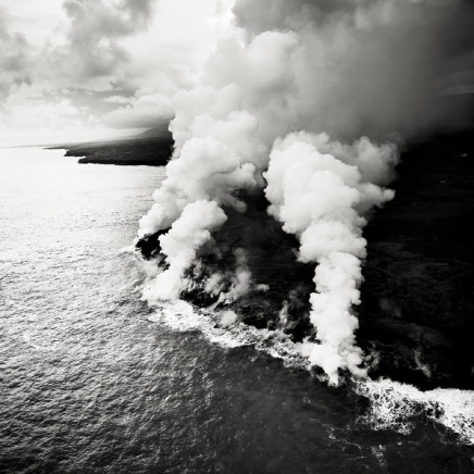 Josef Hoflehner, Ocean Lava Entry 3, Hawaii, 2008