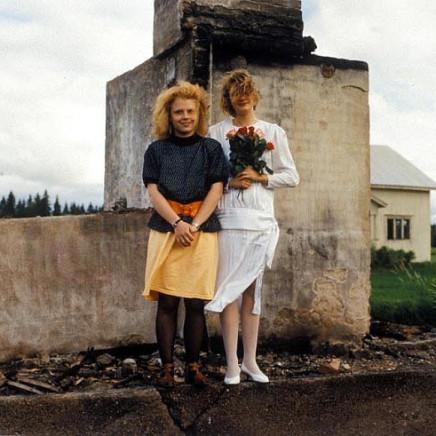 Mia Purmonen ja Milja Juvonen, Vepsä Tohmajärvi [Ruins of a House]