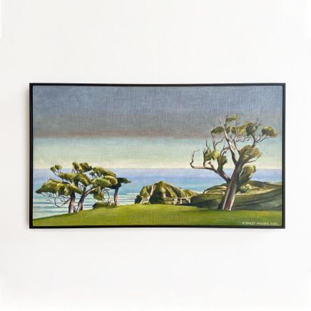 Stanley Palmer - Study for Akeake - Chatham Islands, 2020