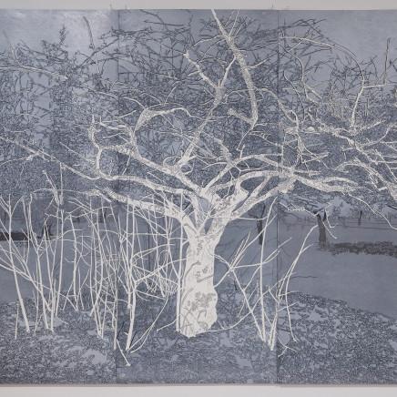 Fiona Van Oyen - The anthropomorphic garden (silver), 2017/18