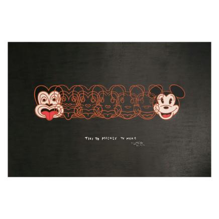 Dick Frizzell - Mickey to Tiki, 2012