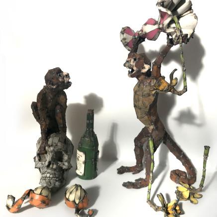 Hannah Kidd - Still Life With Monkeys