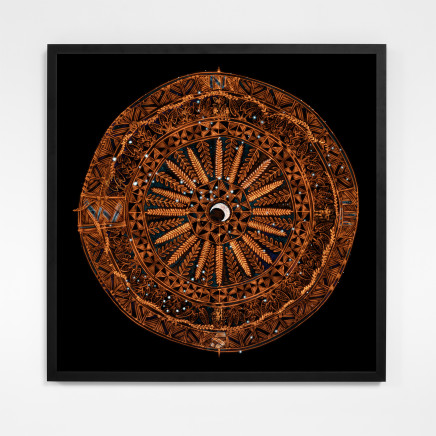 Michel Tuffery - Star Compass for Matariki, 2021