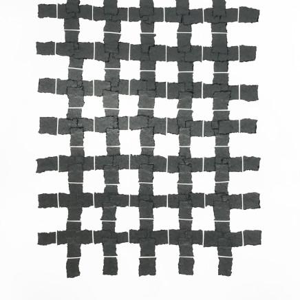 Veronica Herber - 7x5 Medium Grid Grey, 2017