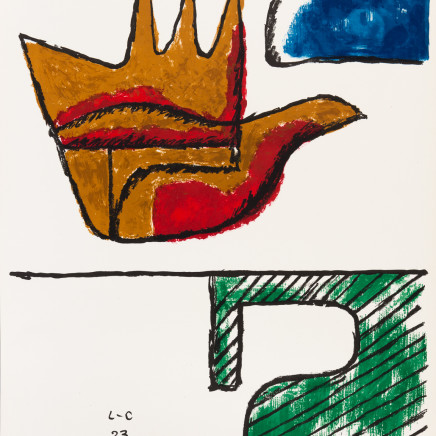 Le Corbusier - The Open Hand , 1963